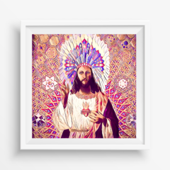 Azulejo Decorativo - Jesus Cocar na internet