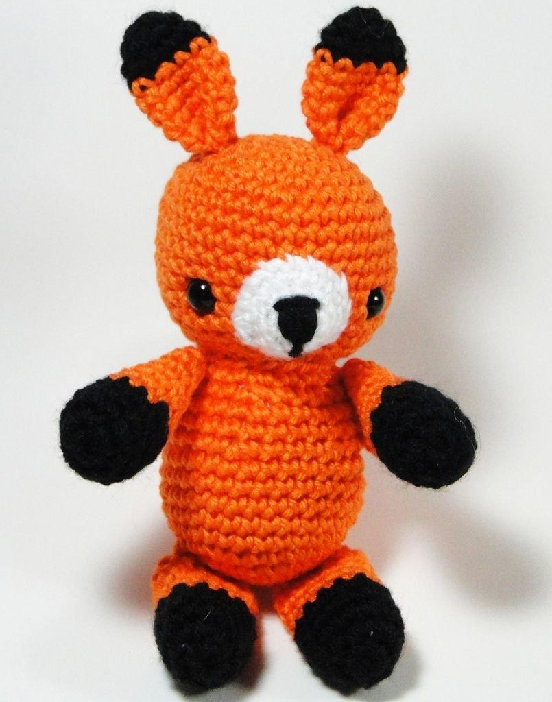 Amigurumi Raposa Criaturinhas Em Crochê - Material e Receita ... | 1024x805