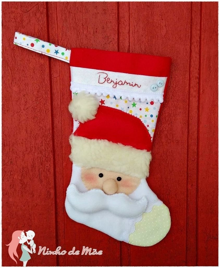Bota Papai Noel Comprar Em Ninho De Mãe