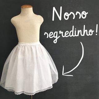 Anagua vestido