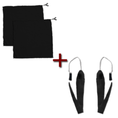Kit Flag + Poi Preto - Vendido por par