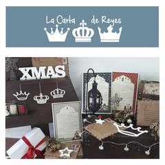 Carta de Reyes Familiar Correo Simple