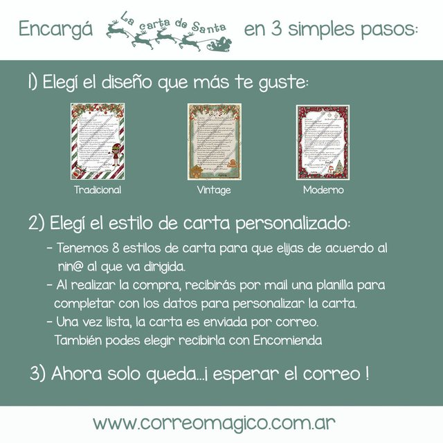 Carta Tardía familiar por Correo Simple - comprar online