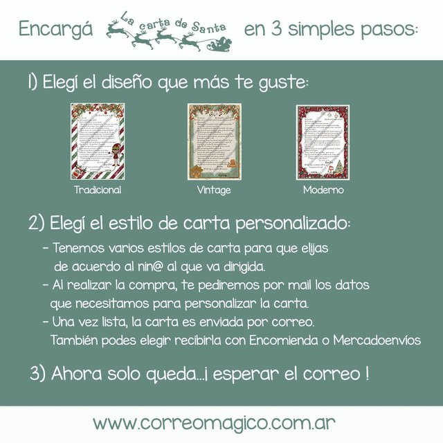 Carta Familiar por Correo Simple