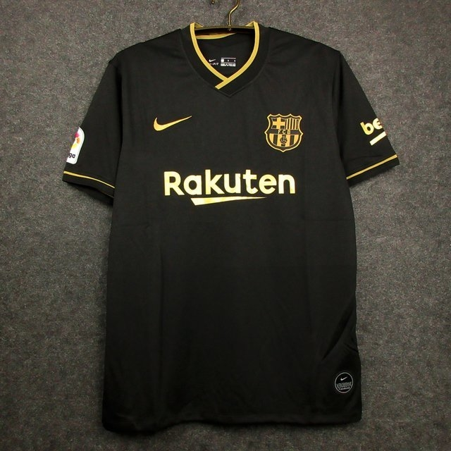 Camisa Barcelona Preta 2021 Frete Gratis