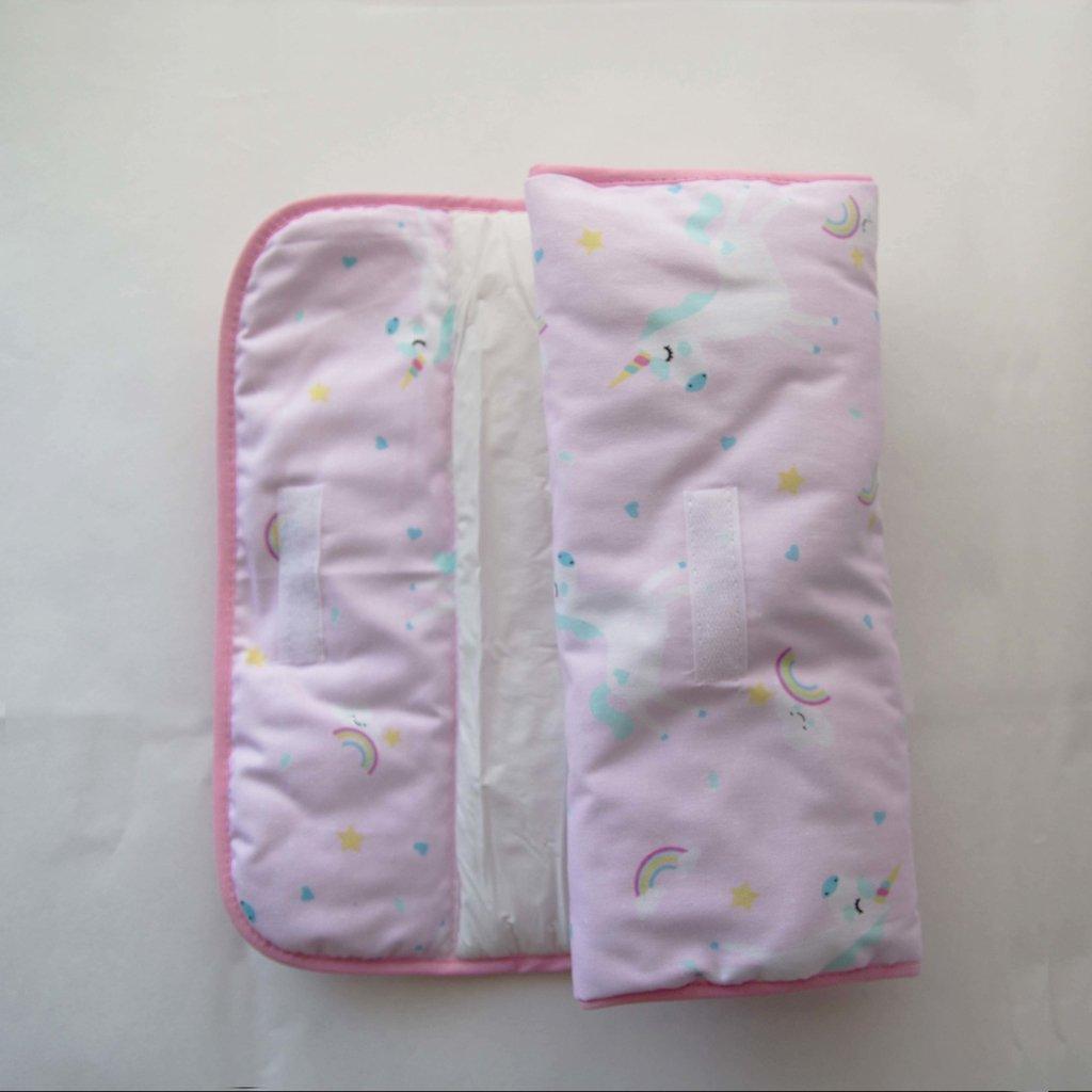 /rosa unicornios Mi Babiie beb/é impermeable cambiador/