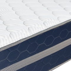 Colchón Serta Montana 200x200 Extra Firme + Sommier Serta Perfect Sleeper Base Doble 100x200 en internet