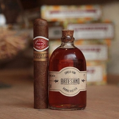 Maridaje Romeo y Julieta short Churchill con Rum Fashioned