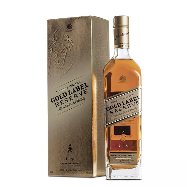 Johnnie Walker Gold Label - Reserve.  750ml