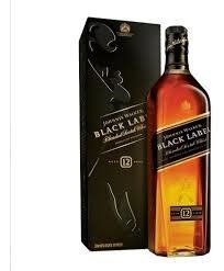 Johnnie Walker Black Label x 1000 cc.