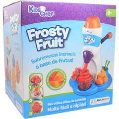 Fabrica de Sobremesas Brinquedo Kids Chef Frosty Fruit - Multikids na internet