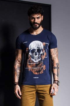 CAMISETA SKULL MANHOOD