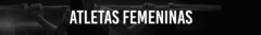 Banner for category FEMALE ATHLETES
