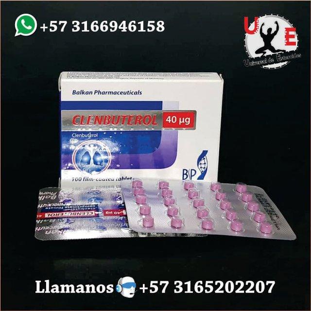 Clorhidrato de clenbuterol efectos