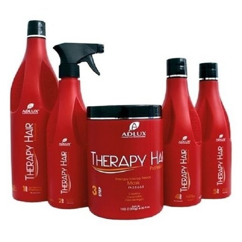 KIT THERAPY HAIR PROFISSIONAL (5 passos)