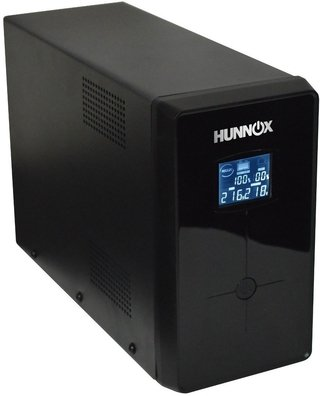 UPS ESTABILIZADOR TENSION PC HUNNOX 850VA LCD 510W METAL - comprar online