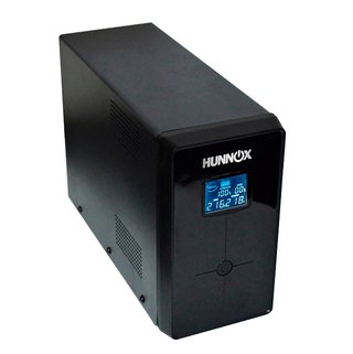 UPS ESTABILIZADOR TENSION PC HUNNOX 850VA LCD 510W METAL
