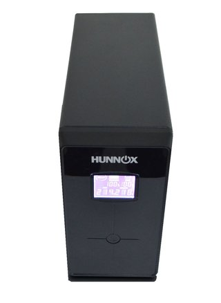 UPS ESTABILIZADOR TENSION PC HUNNOX 850VA LCD 510W METAL - tienda online