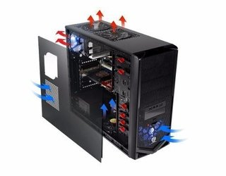 Imagen de GABINETE THERMALTAKE V4 BLACK EDITION 600W GAMER GTIA