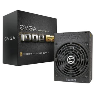 FUENTE PC EVGA 1000W G2 SUPERNOVA 80 PLUS GOLD MODULAR GTIA2