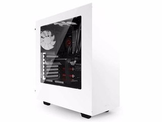 GABINETE NZXT S340 BLANCO USB 3.0 FAN 120 X 2 GAMER
