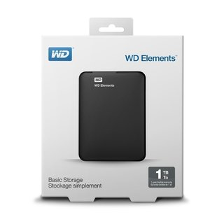 DISCO RIGIDO EXTERNO 1TB WD ELEMENT 3.0 USB - comprar online