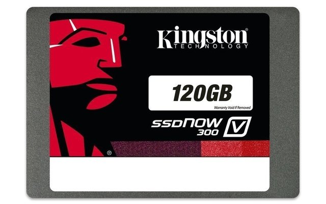 Imagen de DISCO RIGIDO SOLIDO SSD KINGSTON V300 120GB SATA3 GTIA