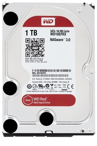 DISCO RIGIDO 1TB 5400 SATA WD RED EDITION