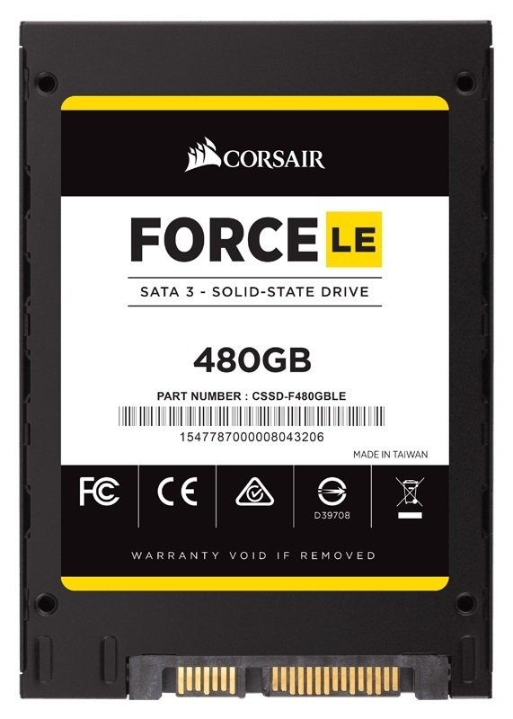 DISCO SOLIDO SSD 480GB CORSAIR FORCE LE - tienda online
