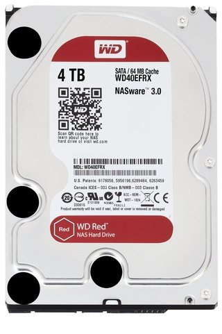 DISCO RIGIDO HDD 4 TB 5400 SATA WD RED EDITION GTIA