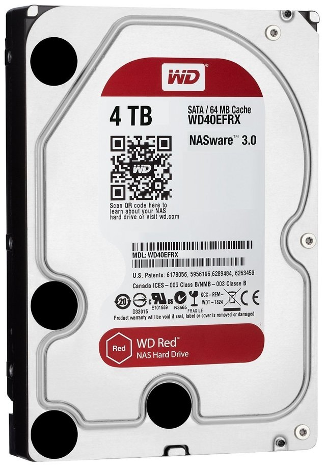 DISCO RIGIDO HDD 4 TB 5400 SATA WD RED EDITION GTIA - comprar online