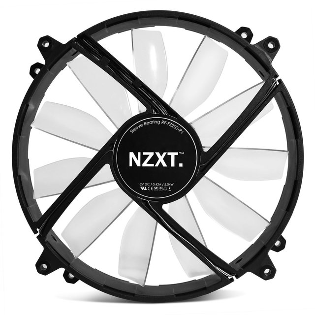 FAN COOLER NZXT AIRFLOW SERIES FZ-200 200 RED LED GTIA 24M