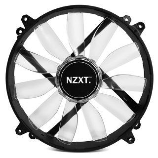 FAN COOLER NZXT AIRFLOW SERIES FZ-200 200 BLANCO LED GTIA 24 - tienda online