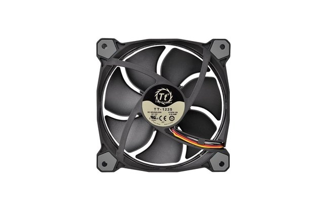 COOLER CPU THERMALTAKE 3 FAN PACK RIING 12 LED 256 COLORES - comprar online