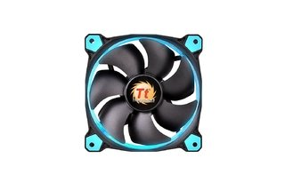 COOLER THERMALTAKE RIING 12 LED BLUE RADIATOR GAMER GTIA 12M - Exxa Store