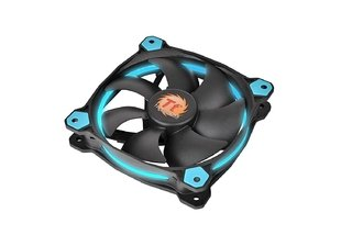 COOLER THERMALTAKE RIING 12 LED BLUE RADIATOR GAMER GTIA 12M - comprar online
