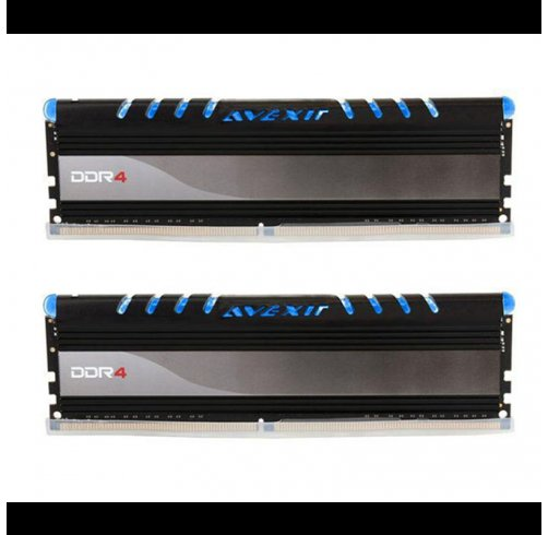 MEMORIA RAM AVEXIR 8GB 2400 MHZ CORE SERIES 2X4 DDR4 BLUE en internet