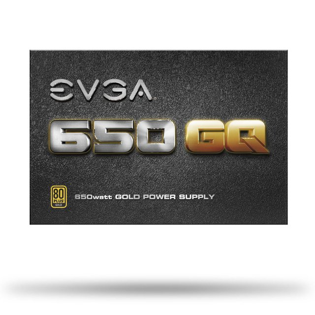 FUENTE PC EVGA 650W REALES 54A GQ 80 PLUS GOLD GTIA 24M