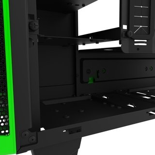 GABINETE NZXT H440 BLACK-GREEN FAN X4 MID TOWER USB 3.0 GTIA - Exxa Store