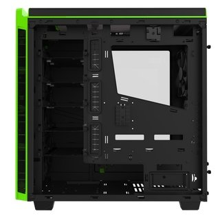 GABINETE NZXT H440 BLACK-GREEN FAN X4 MID TOWER USB 3.0 GTIA
