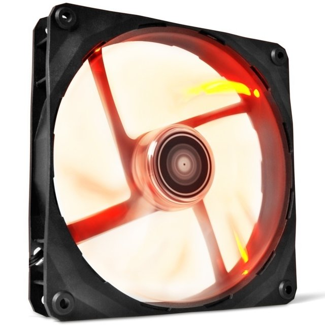 FAN COOLER NZXT AIRFLOW SERIES FZ-120 RED LED ROJO GTIA 24M - comprar online