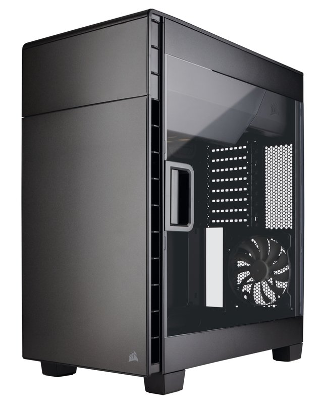GABINETE CORSAIR CARBIDE 600C BLACK GAMER GTIA 12M