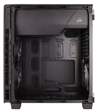 GABINETE CORSAIR CARBIDE 600C BLACK GAMER GTIA 12M - Exxa Store