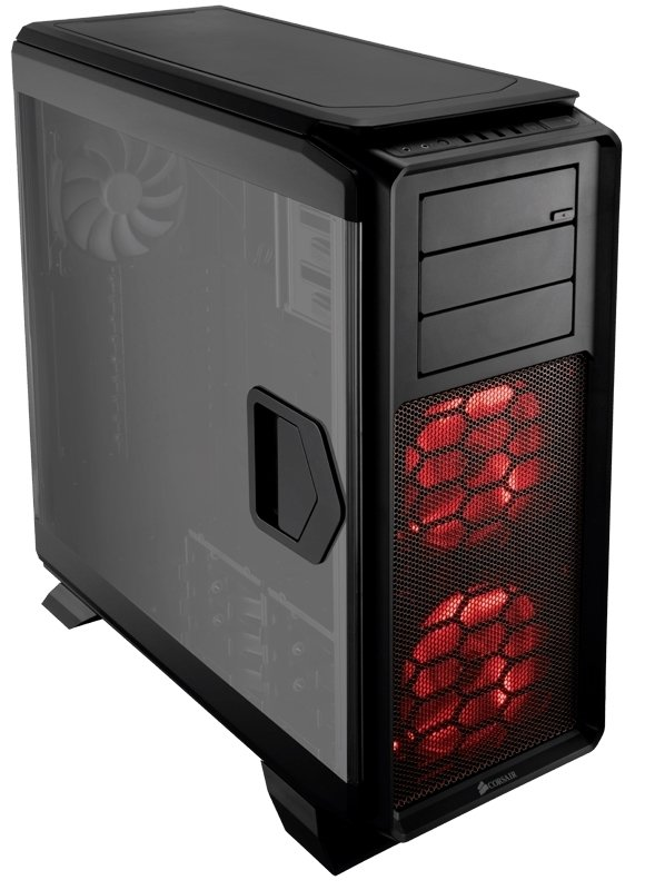 GABINETE CORSAIR GRAPHITE 760T BLACK GAMER FULL TOWER GTIA