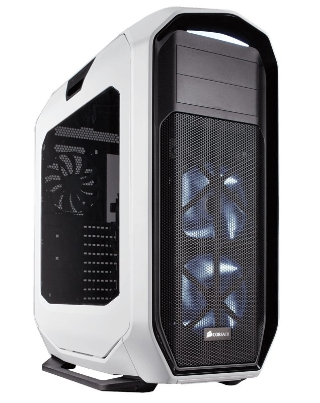 GABINETE CORSAIR GRAPHITE 780T WHITE GAMER GTIA 12M