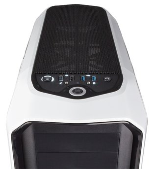 GABINETE CORSAIR GRAPHITE 780T WHITE GAMER GTIA 12M en internet