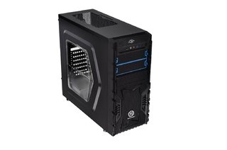 GABINETE THERMALTAKE VERSA H23 BLACK MID TOWER FAN 120MM USB - tienda online
