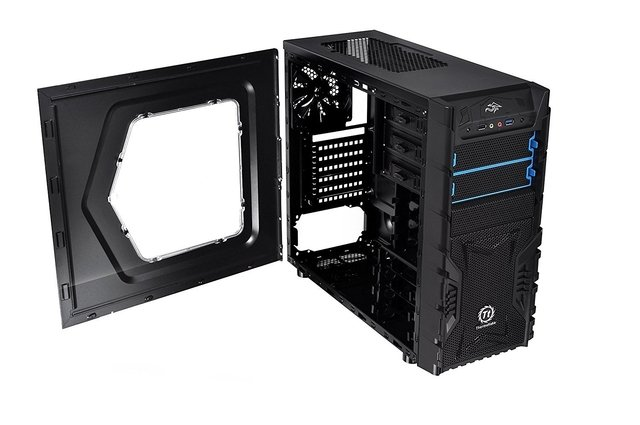 GABINETE THERMALTAKE VERSA H23 BLACK MID TOWER FAN 120MM USB