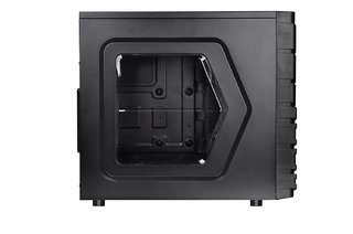 GABINETE THERMALTAKE VERSA H23 BLACK MID TOWER FAN 120MM USB - Exxa Store