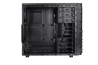 GABINETE THERMALTAKE VERSA H23 BLACK MID TOWER FAN 120MM USB en internet